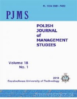 Polish Journal of Management Studies